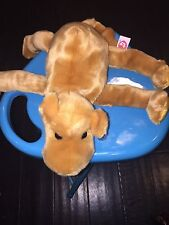 100% Auth/New Vintage Ty Beanie Buddies Humphrey the Camel Rare 1st Gen Tush B&W