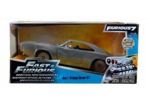 1/24 Jada Dodge Charger R/T 1970  Fast & Furious 7 (2015) Livraison Domicile