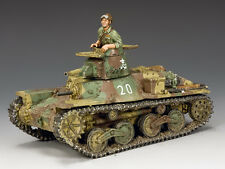 "JN040 Type 95 ""Ha-Go"" Light Tank by King and Country"
