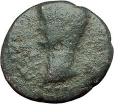 NERO 54AD Thessalonica Macedonia Authentic Ancient Roman Coin NIKE i63703