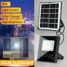 10W Solar Power 36LED Flood Light Outdoor Garden Security Lamp Remote Control