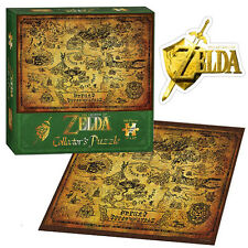 The Legend of Zelda Collector's Edition Puzzle NEW Hyrule Map 550 pcs Nintendo