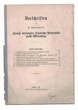 Thomas Mann, Doktor Faustus/Friedrichs-Universität Halle-Wittenberg/Hallensia
