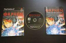 JEU Sony PLAYSTATION 2 PS2 : ORPHEN L'HERITIER DES SORCIERS (Activision COMPLET)