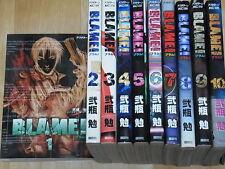 Comic BLAME! vol.1-10 Complete Set Tsutomu Nihei
