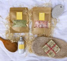 Spa Gift Set, Lavender Soap, Birthday Gift Set, Gift for Her, Natural Bath Gift