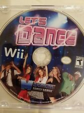 NINTENDO WII : LET'S DANCE WITH MEL B   DISC ONLY FREE SHIPPING