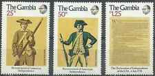 Timbres Gambie 324/6 ** lot 19754