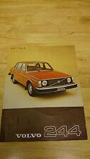 1977 Volvo 244 Brochure