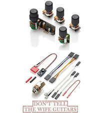 EMG BQS Tone Control System Mid Freq & EQ, Seperate Bass & Treble, Balance,  Vol