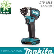MAKITA DTD 153 AVVITATORE AD IMPULSI MASSA BATTENTE 170 Nm SOLO CORPO 18 V