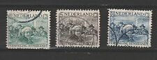 o NED. NVPH nrs. 229/231, Rembrandt 1930. C.w. € 30,--