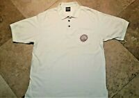 Harley Davidson Short Sleeve Orlando FL Polo Golf Shirt 100% Cotton Ivory XL Men