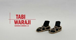 model #5-3 ,TABI (socks) , WARAJI (sandals)  scale 1/6