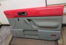 1998-2010 VW Beetle Door Panel Right Passenger Red Gray Oem