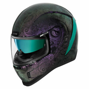 Icon Airform Chantilly Opal Purple Full Face Motorcycle Motorbike Helmet