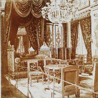 Fontainebleau Camera Npoléon Foto Stereo PL59L11n Placca Da Lente Vintage