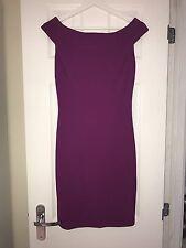 Ted Baker Pink/Purple Bardot Mini Dress Size 8