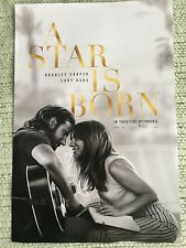 "A Star is Born Lady Gaga, Bradley Cooper Poster 11.5 X 17"" NEW"