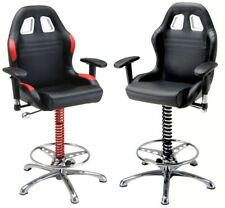 PitStop Crew Chief Bar Chair * High Quality Automotive Styling * Choose 2 Colors