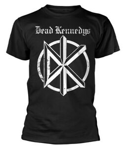 Dead Kennedys 'White Logo' Black T-Shirt - NEW OFFICIAL