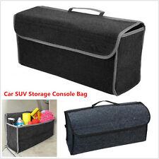 High quality felt Cargo Trunk Organizer Car SUV Storage Console Collapsible Bag