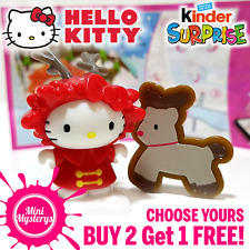 Kinder Surprise Hello Kitty *CHOOSE YOURS* BUY 2 GET 1 FREE! Kinder Joy Figures