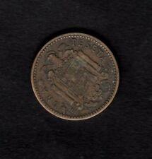 Spain 1953 1 Peseta coin