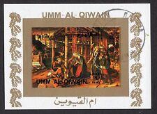 Umm Al Qiwain: Paintings stamps