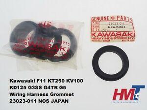 Kawasaki F11 KT250 KV100 KD125 G3SS G4TR G5 Wiring Harness Grommet 23023-011 NOS
