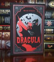 Dracula by Bram Stoker Horror New Suede Leather Feel Deluxe Ribbon Marker Gift