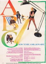 ABC : How To Become A Millionaire Songwords Pin Up Poster 11x8