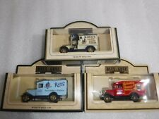 3 x Lledo  Vans, Birds , Ritters + Golden Marmalade , Collection  Unused  Boxed