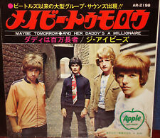 """IVEYS aka BADFINGER """"Maybe Tomorrow"""" rare 1969 Japan ONLY 7"""" w/ps BEATLES"""