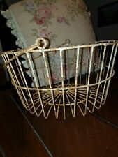 Farmhouse decor Wire Basket With Wire Handle