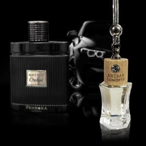 Black Spice Orchid Car Air Freshner  Diffuser Oil Perfume Hanging Bottle 10ml