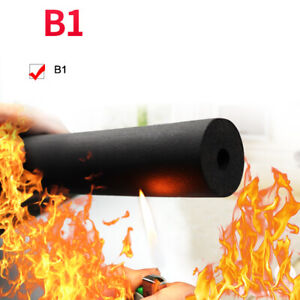2M Lagging Wrap Roll Insulation Foam Pipe Sponge Rubber Tube 6-108mm for Piping