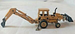 Vintage 1/64 Ertl Ford Tractor Loader Backhoe Die-Cast Model