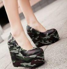 Wedge Clubwear Synthetic Heels for Women