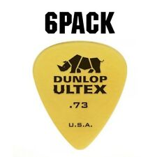 Jim Dunlop Ultex Standard Plectrum Players Pack - 6 Pack - .73mm