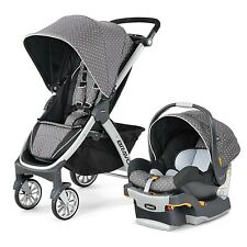 Chicco Bravo Trio Travel System Lilla