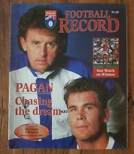 AFL 1995 Football Record Round 5, Richmond v Brisbane April 1995