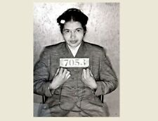 Rosa Parks MUG SHOT Arrest PHOTO Black Civil Rights Hero, Black Segregation