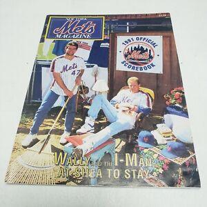 New York Mets 1991 Official Score Book, Shea Stadium, Flushing, NY