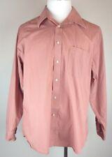 NICOLE MILLER Men's Button Down Dress Shirt Size: XL 17 1/2 34/35 Long Sleeve