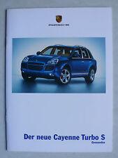 Prospekt Porsche - der neue Cayenne Turbo S, 10.2005, 14 Seiten
