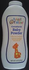 BABY POWDER  PURE CORNSTARCH WITH ALOE & VITAMIN E ABSORBS WETNESS 9 oz