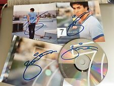 ENRIQUE IGLESIAS CD ALBUM 7 UK SIGNED PERSONALLY FOUR TIMES FROM COLLECTION