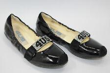 CESARE PACIOTTI  women shoes sz 6.5 Europe 37 black leather S7970
