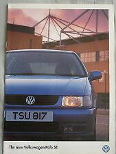 VW Polo SE range brochure May 1996